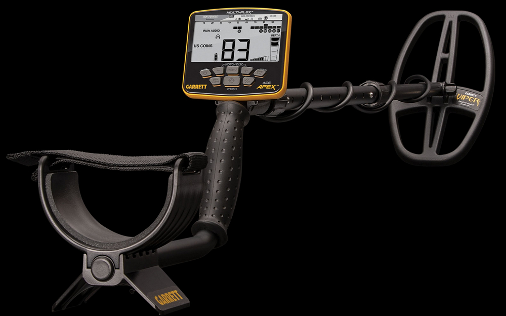 Garrett Ace Apex Full Metal Detector
